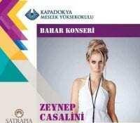 Ürgüp Zeynep Casalini Konseri