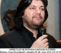Ahmet Şafak Konser Fiyatı